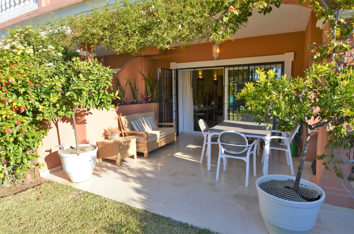 Beautyful Groundfloor Apartment with a large terrace and a private garden very close to the beach. -, Spain