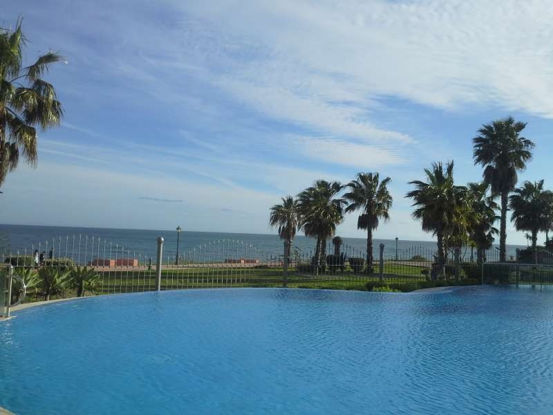 Modern 3 bed apartment in Estepona New Golden Mile inside a gated complex with communal gardens and ,Spain