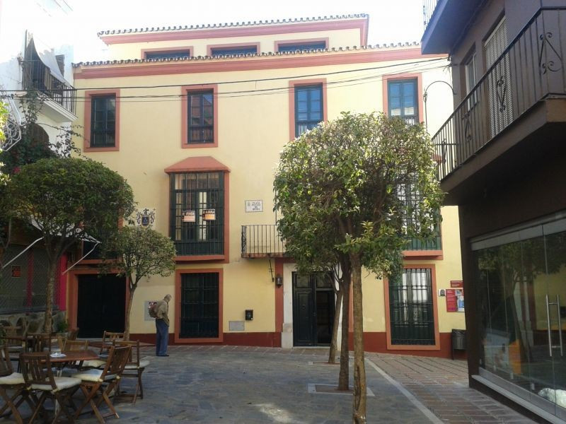 Building located in the heart of the historic center of Marbella. Its main facade overlooks a charmi, Spain
