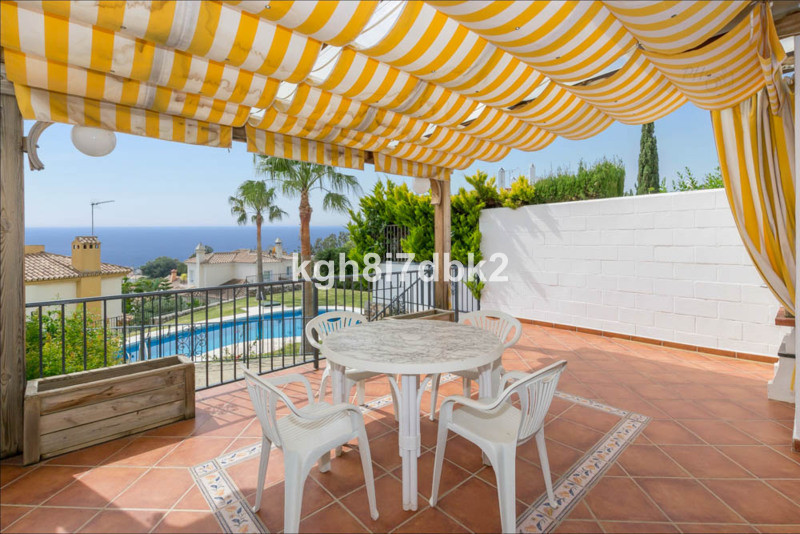 Town house in gated urbanization only 600 meters from the centre of Benalmadena Pueblo. Prime locati,Spain
