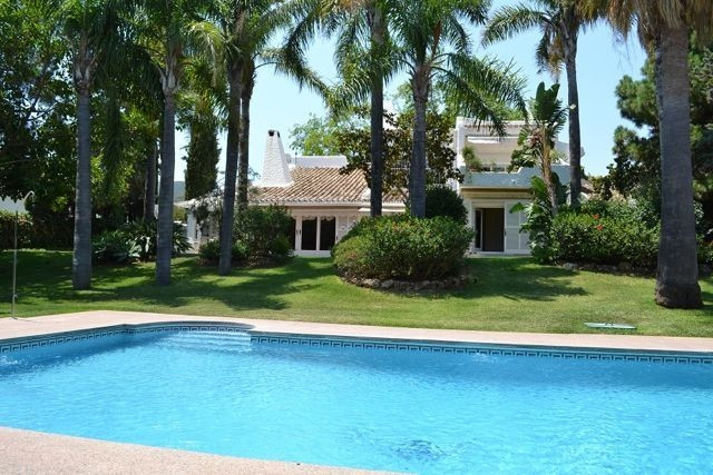 Situated just outside the town of Marbella in a residential area. Beautiful older villa with charm a, Spain