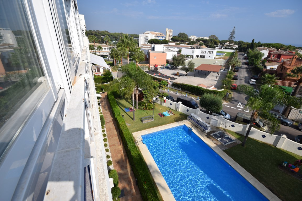 Nice apartment in beachfront of one of the best beaches in Marbella, two bedrooms and one bathroom, ,Spain