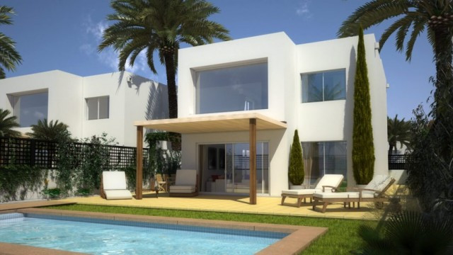 Beautiful Villas of high quality and modern style, just 400 meters from the beaches of Mar de Crista, Spain