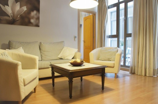 Wonderful recently redecorated apartment with parquet floors and modern furniture. It has air condit,Spain