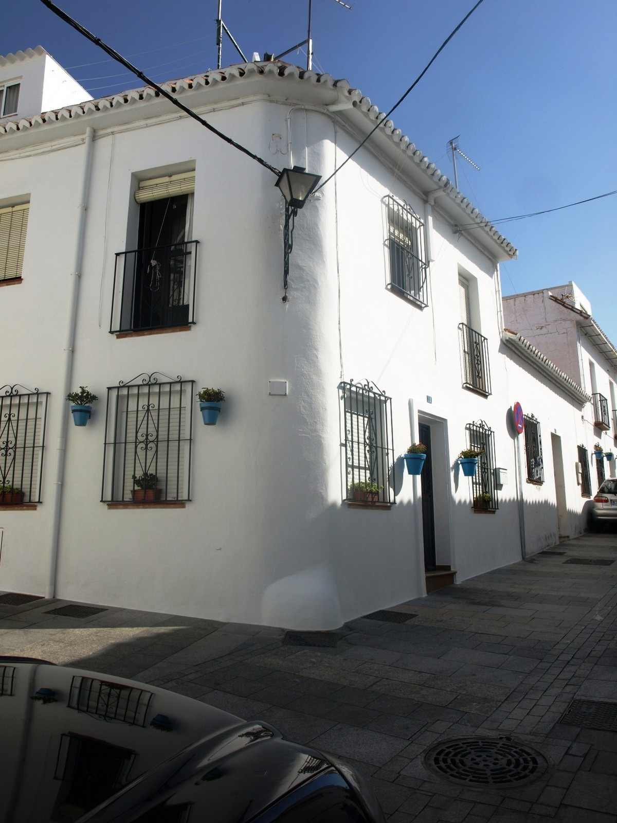 Fantastic opportunity to purchase the top part of a typical village house!  This property is located,Spain