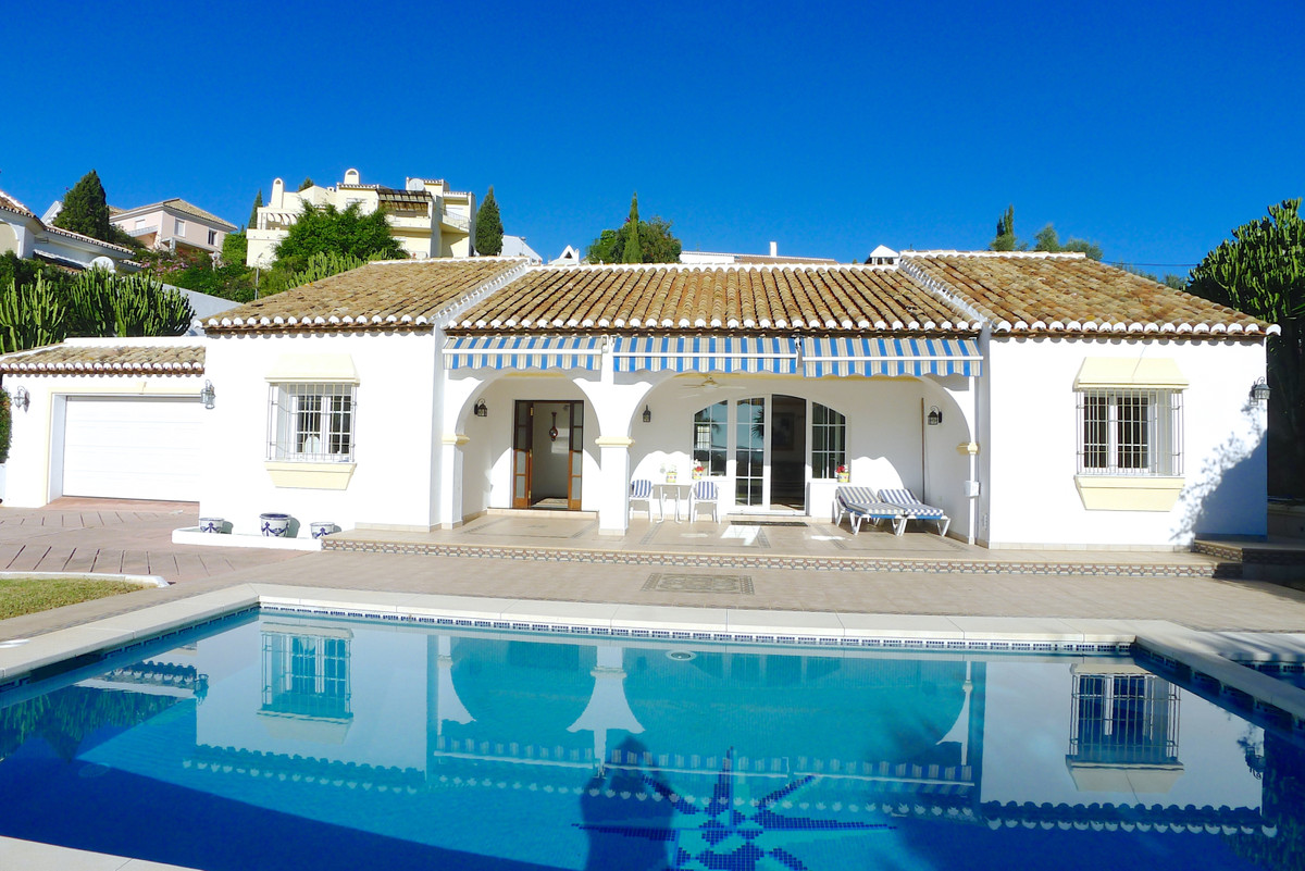 Superb 4 bed one level villa set in a truly exceptional location in popular Mijas Golf course. With ,Spain