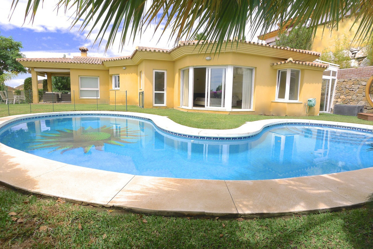 Beautiful one level luxury 3 bed villa with stunning sea views for sale in sought after luxury resid,Spain