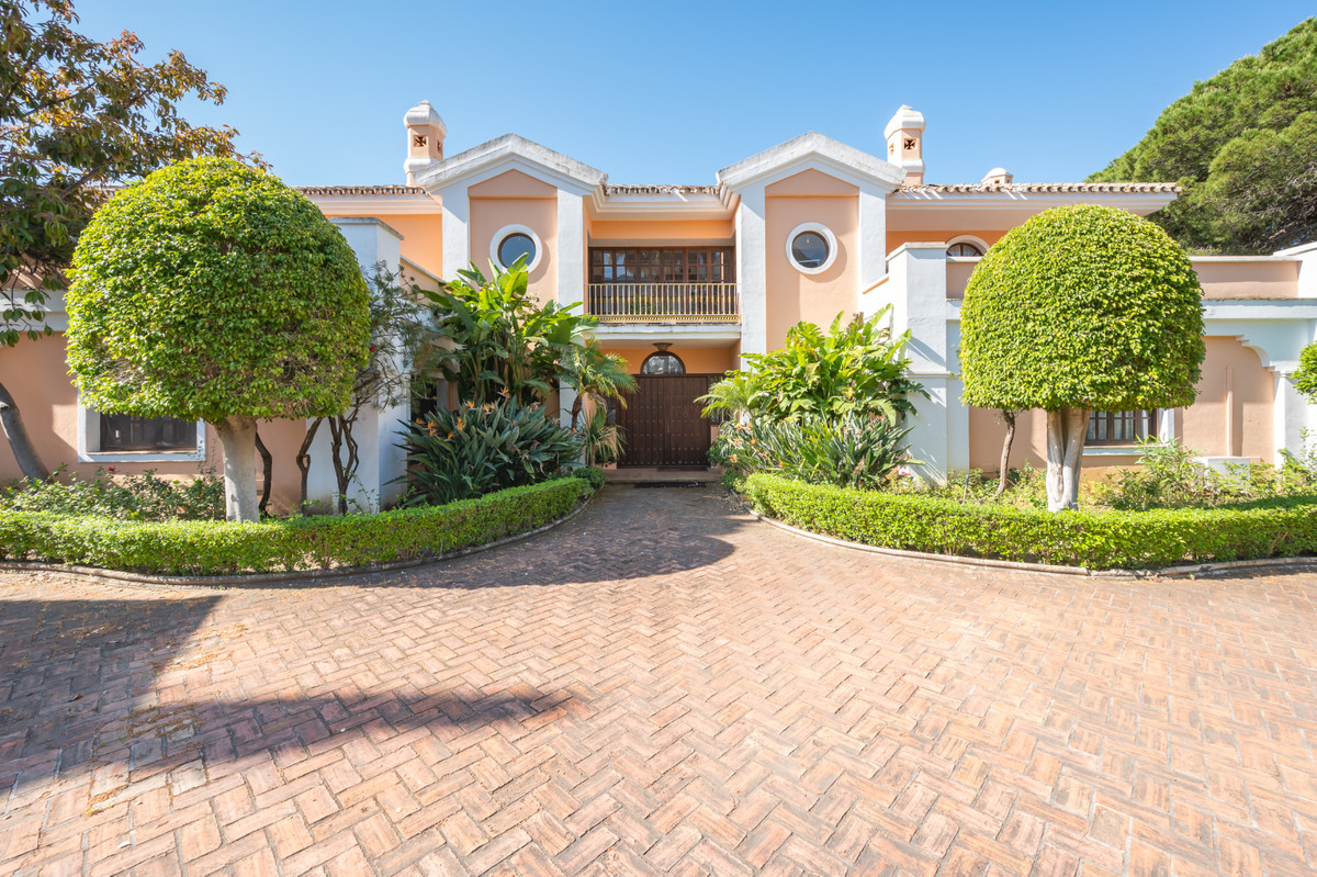 Majestic mansion located in The Golden Mile of Marbella between Nagueles and Las Lomas del Marbella ,Spain