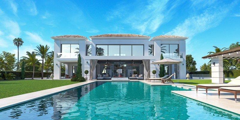 Detached Villa for sale in Guadalmina Baja