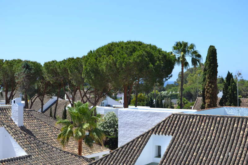 Completely refurbished duplex penthouse in Puerto Banus in a gated urbanization with communal garden,Spain