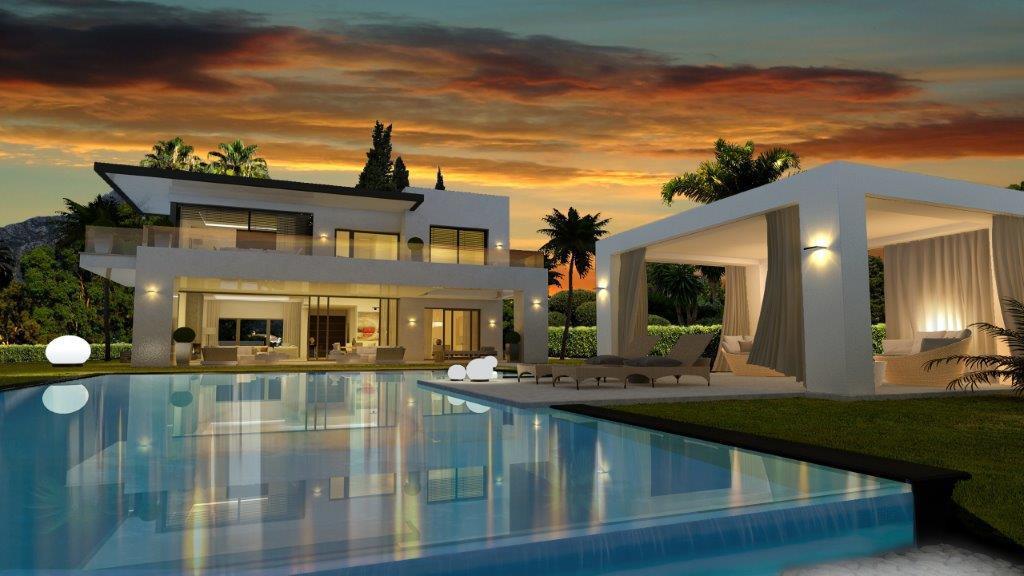 Marbella Banus Villa – Chalet en Venta en The Golden Mile – R2806046