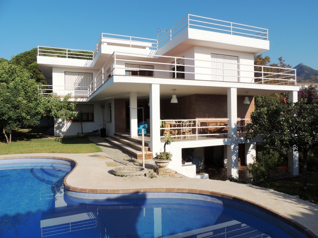 8 bedroom villa in Marbella  Located very close to city center and very well connected, this villa h,Spain