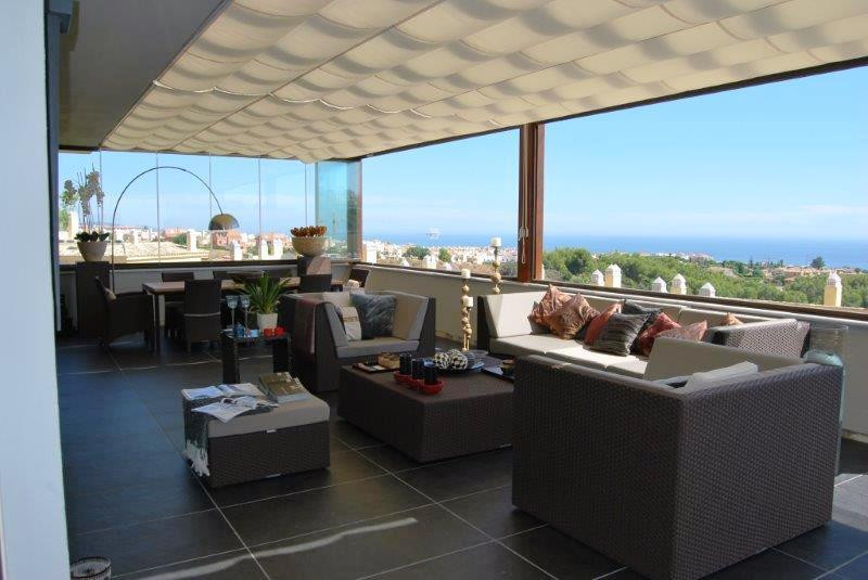 Spectacular duplex penthouse in Sierra Blanca  4 bedroom penthouse completly furnished in private ga,Spain