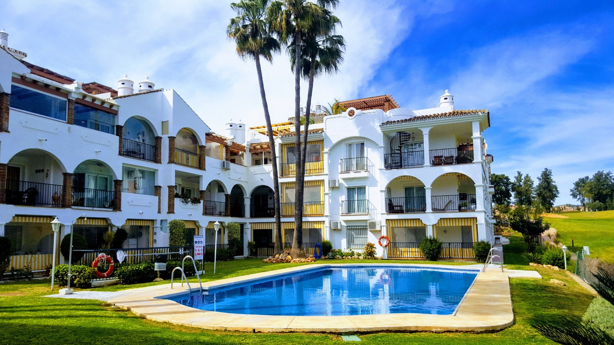 Fantastic Apartment in Mijas Golf  This 3 bedroom ground floor apartment is located next to the pres, Spain