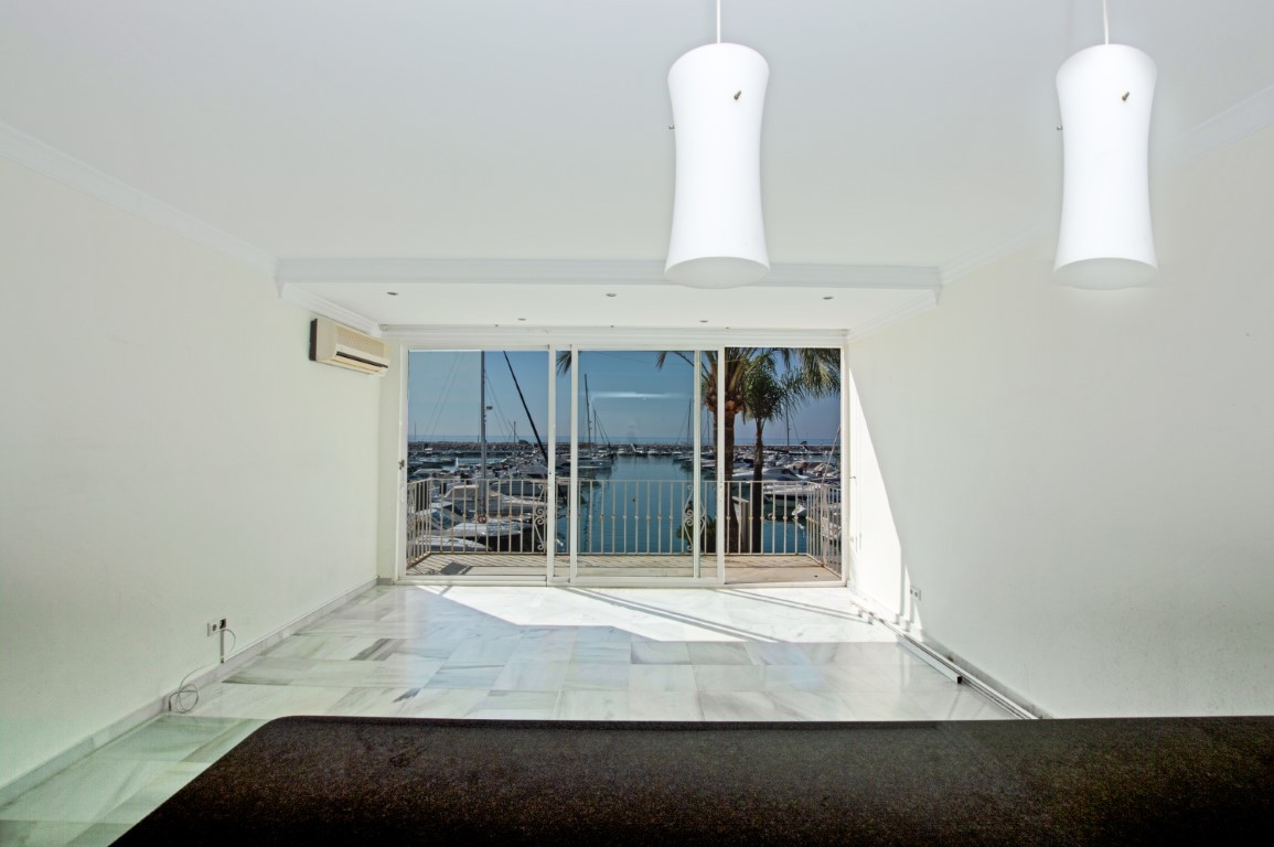 Welcome to the perfect holliday home right at the port in Puerto Banus! The modern, luminous apartme,Spain
