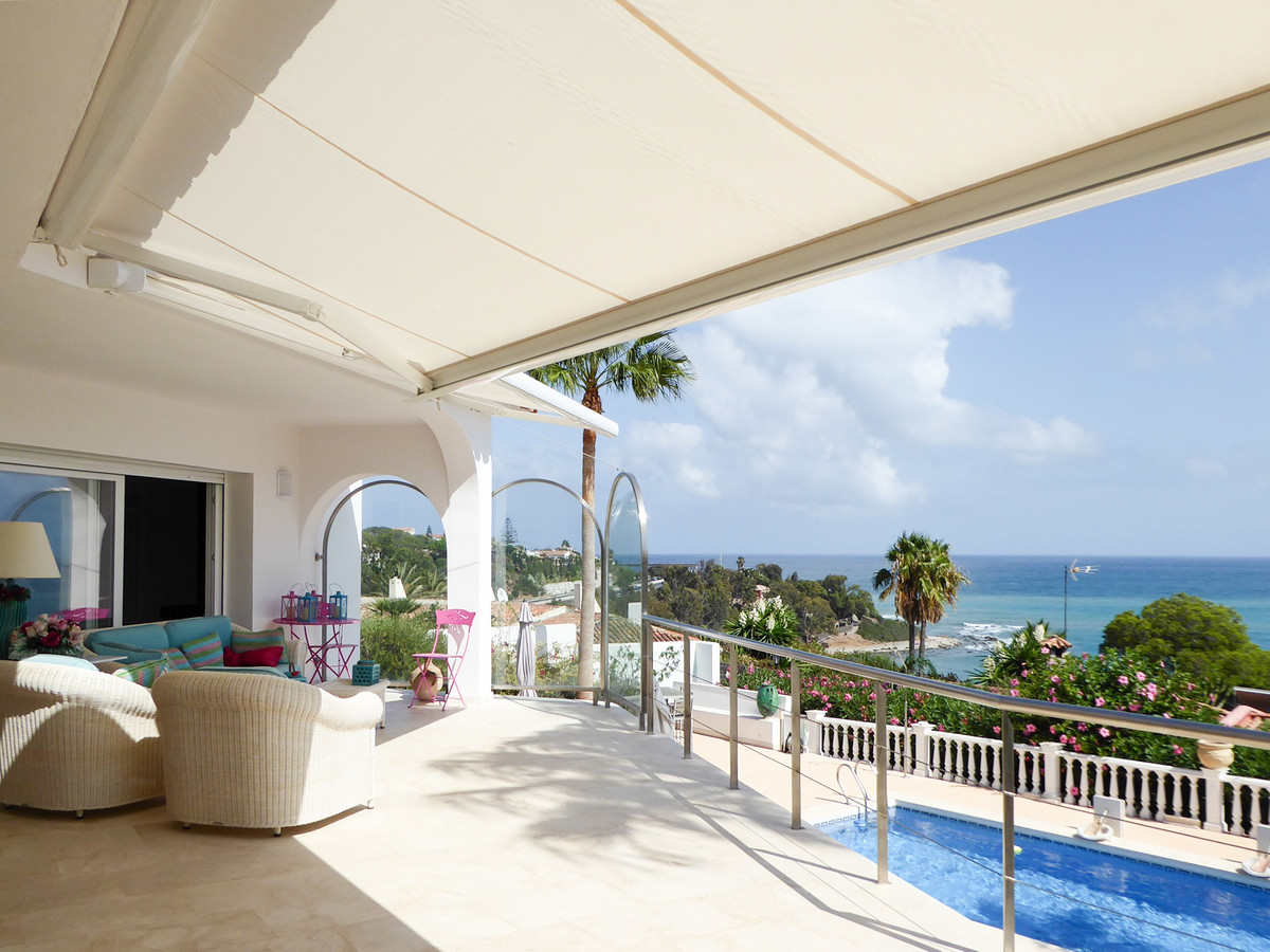 Villa stunning panoramic sea view over the Mediterranean ,Gibraltar and Africa, elegant villa,inmedi, Spain