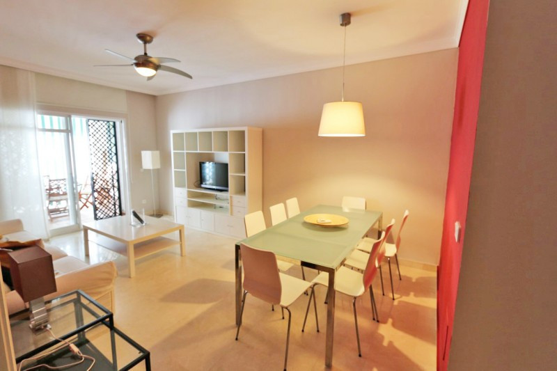 Lovely very well kept 2 bedroom garden apartment located inside one of the most well known, gated coSpain