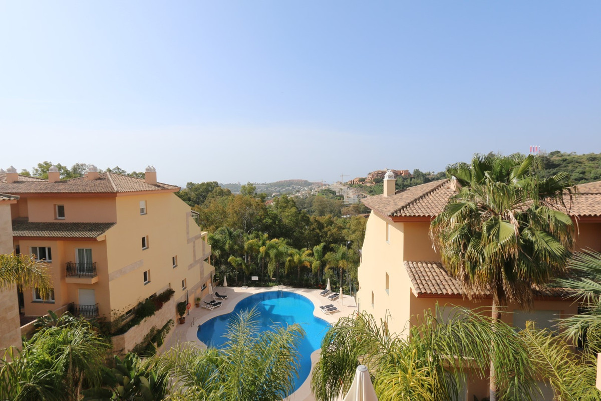In a luxury development in Nueva Andalucia 2 bedroom duplex penthouse apartment very spacious and wi,Spain