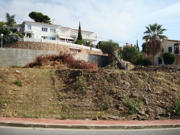 Plot for sale in Benalmadena Costa