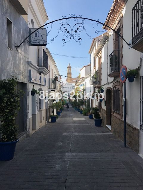 Excellent townhouse in Estepona old town center... lovely & charm street.  The property need ren,Spain