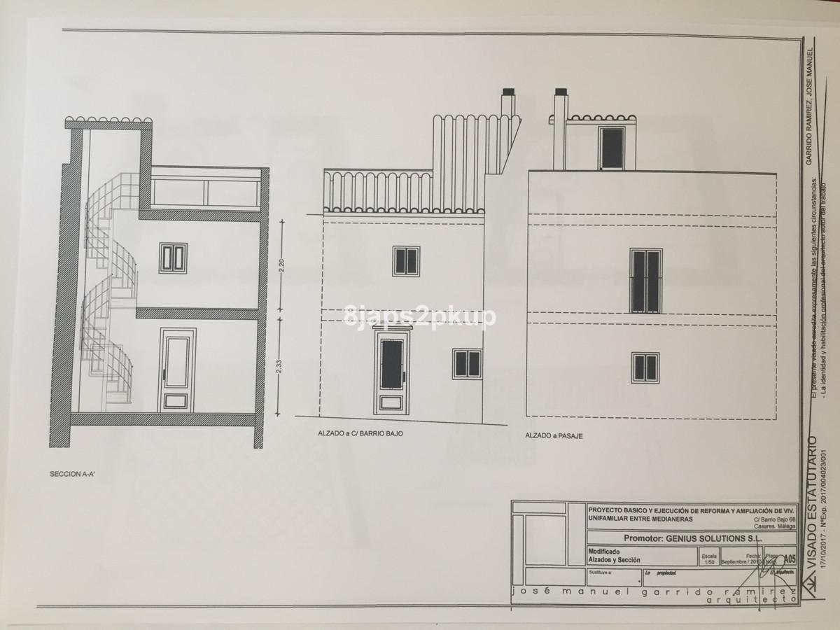 Unifamiliar con 1 Dormitorios en Venta Casares Pueblo