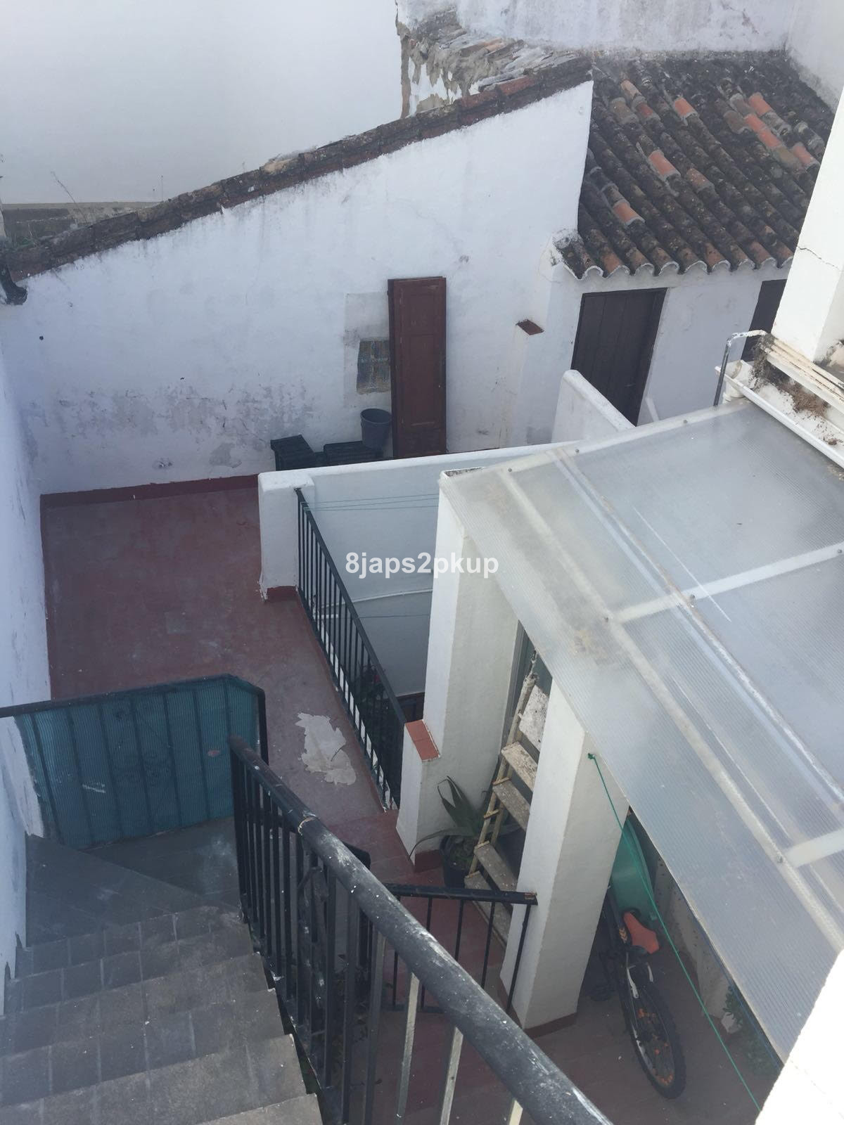 3 properties connected to each other through a large Andalusian patio Townhouse, Estepona Old Town, , Spain