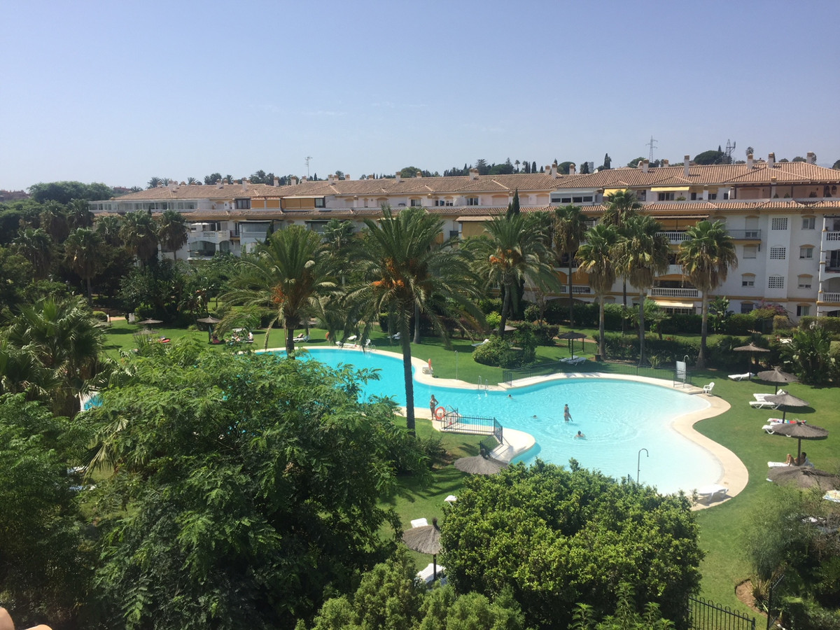 Penthouse in Urbanization in Puerto Banus. Perfect for holiday home, in a quiet area, with exotic ga,Spain
