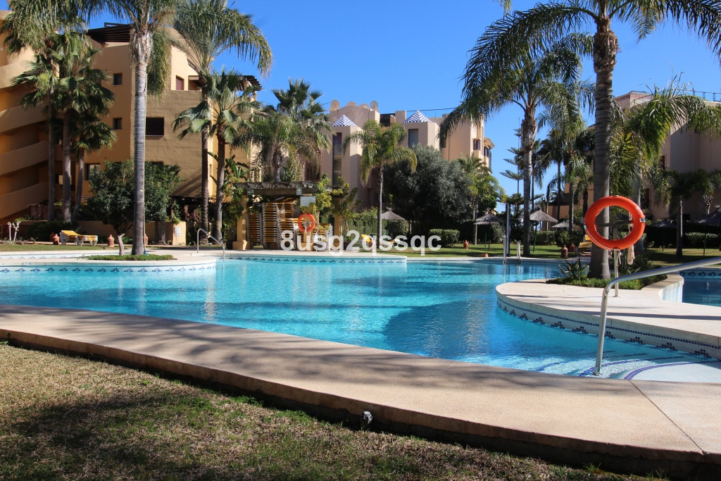 Superb south-, south west facing 128 m2 terrace  this this 2 bedroom, 2 bathroom (en suite) ground f Spain