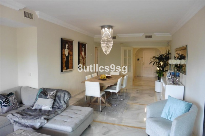 Lovely apartment in Magna Marbella, Nueva Andalucia, with two bedrooms, two bathrooms, both en suite,Spain