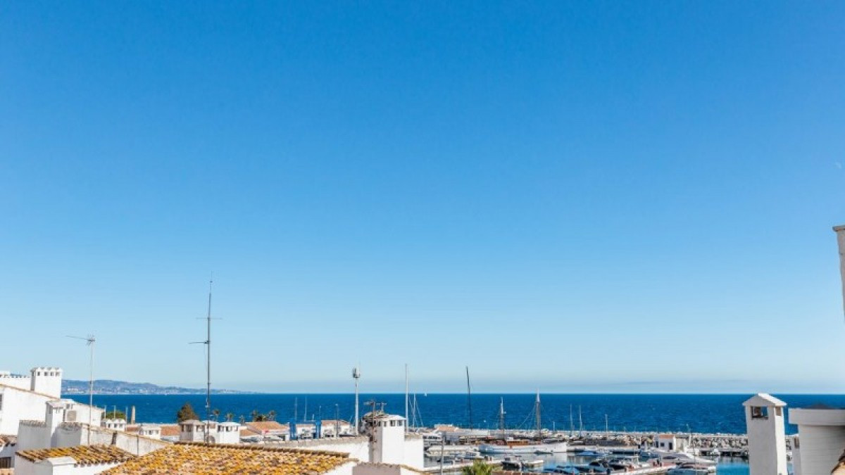 A very bright 2 bed and 2 bath duplex apartment located in 2nd line of the Marina in Puerto Banus. T, Spain
