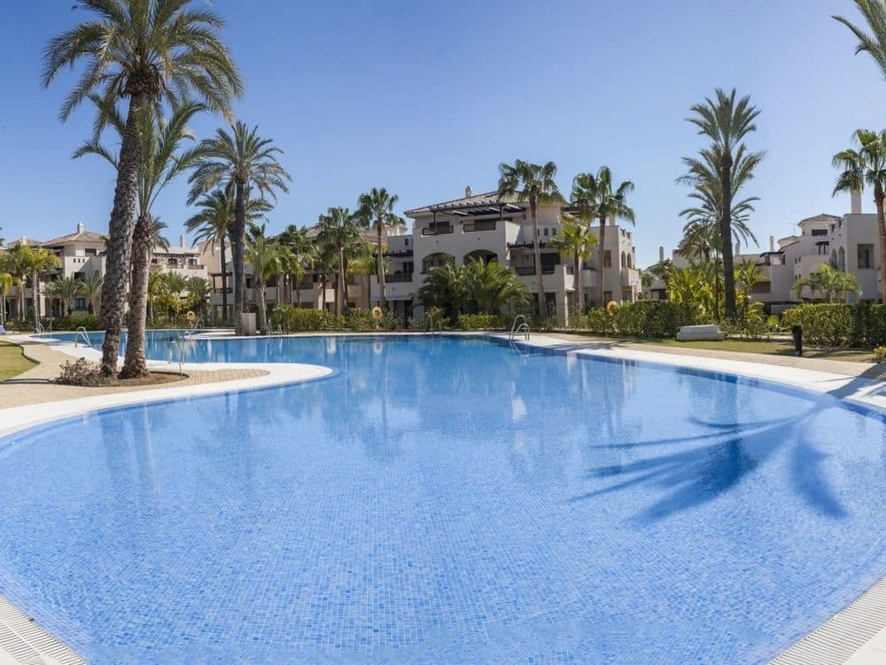 Sole agent for this excellent three bedroom apartment in the much demanded gated community that is w, Spain