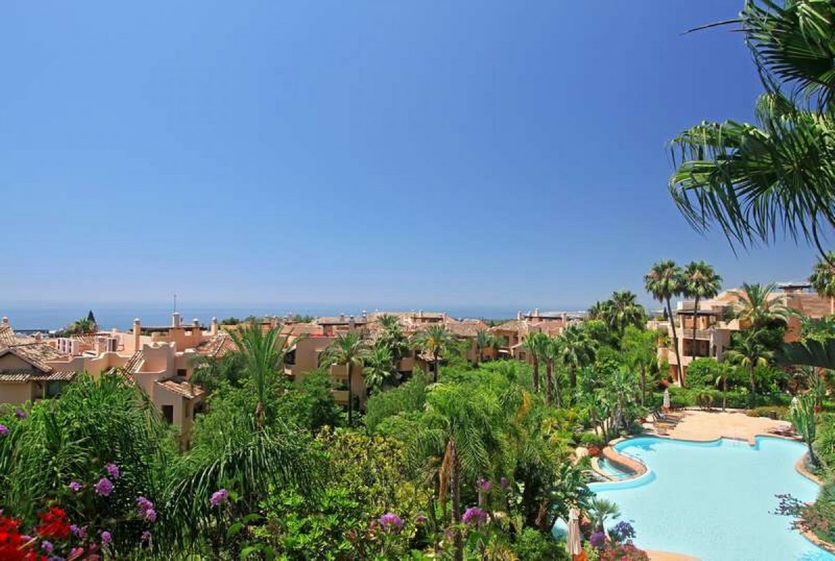 Wonderful penthouse with panoramic sea views. Without doubt, the best located Penthouse in Mansion C,Spain