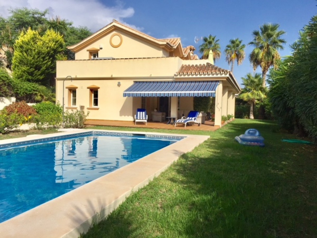 EXCLUSIVE LISTING.  A beautiful charming villa located within the prestigious golf valley and a ston, Spain