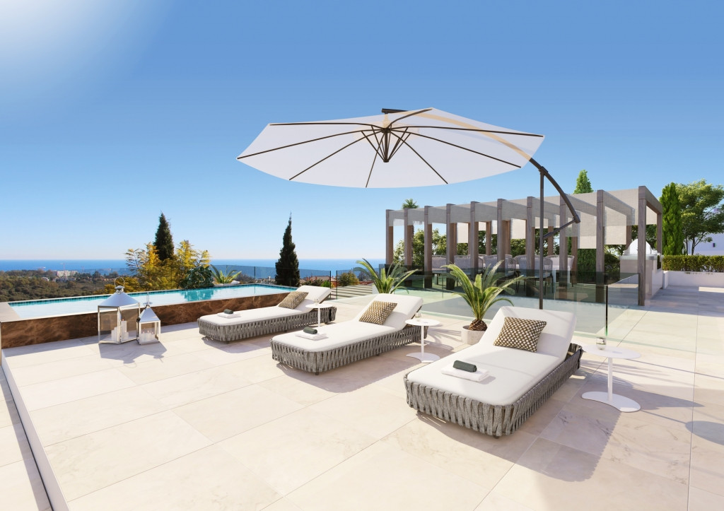 Located in one of the most prestigious areas of the Costa del Sol, this luxurious, bespoke villa in ,Spain