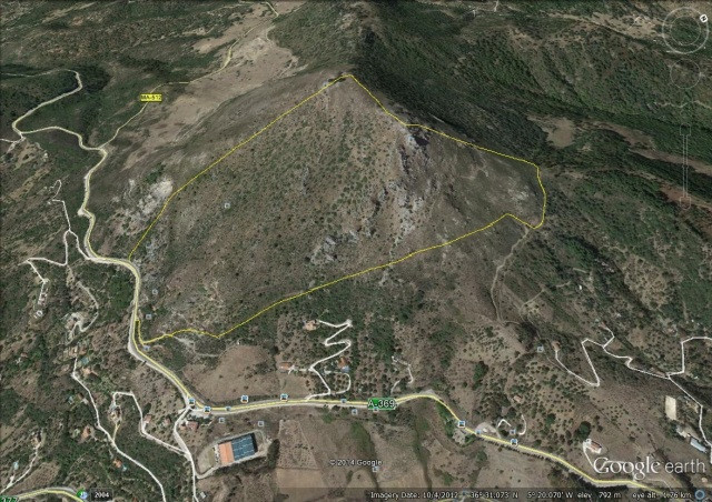Plot/Land for sale in Gaucín, Costa del Sol