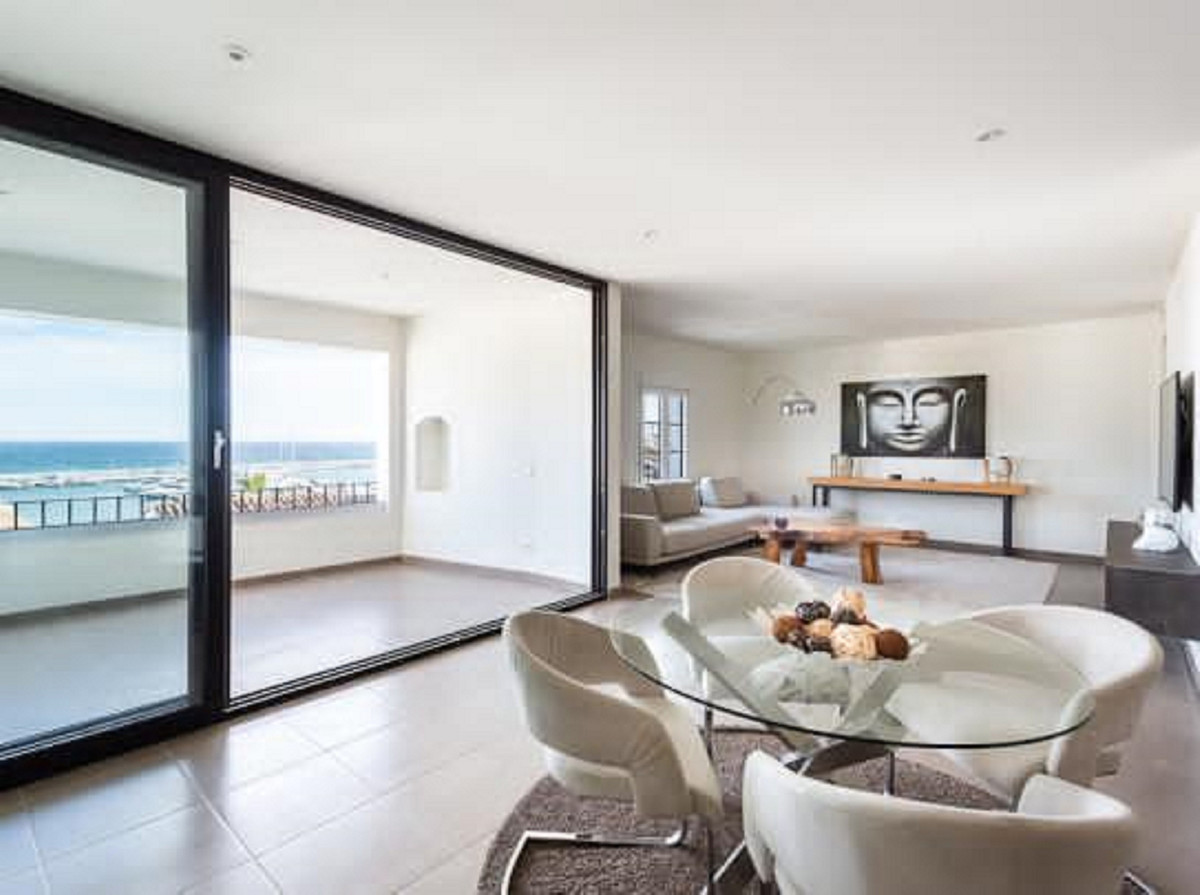 Stunning luxury fully renovated apartment with amazing open views in Puerto Banus. This former 3 bed,Spain