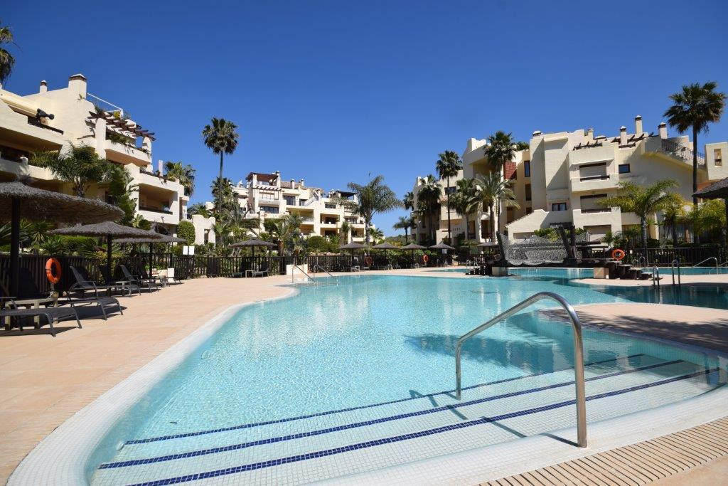 Beachfront complex on the new golden mile between San Pedro de Alcantara and Estepona. This first fl, Spain
