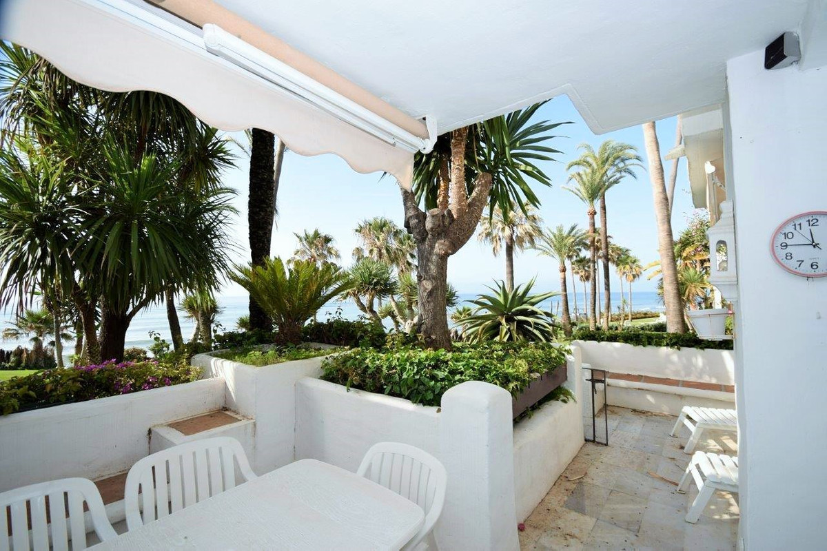 First line beach apartment for sale on the New Golden Mile in Estepona. This southfacing 2 bedroom a, Spain