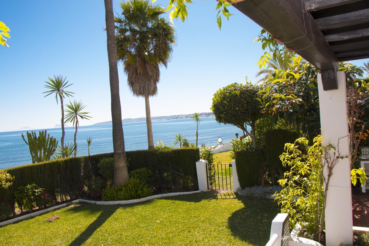 This ground floor apartment has direct access to Estepona's best beach Playa del Cristo. It is a, Spain