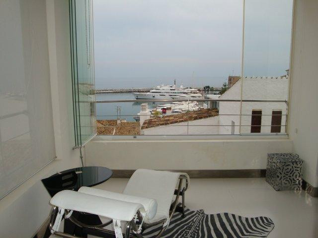 This is a very modern apartment located in the marina of Puerto Banus in the secnd line close to the,Spain