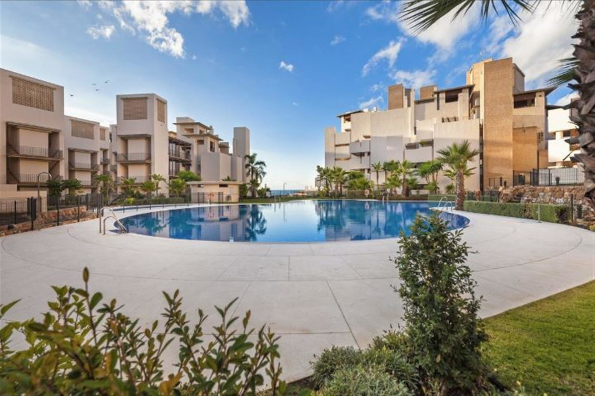 Exclusive apartment beachfront in the New Golden Mile in Estepona. Private and secure complex with t,Spain