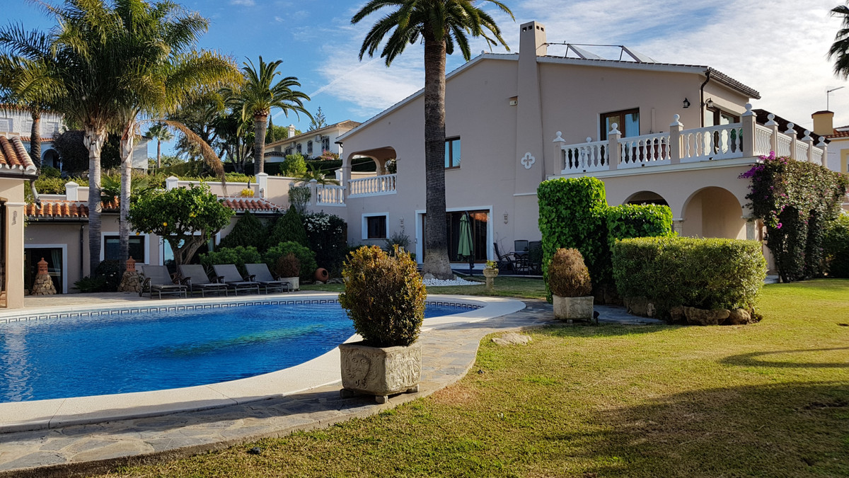 This excellent property is located in Elviria, Marbella East, it consists of 3 structures.  The main, Spain