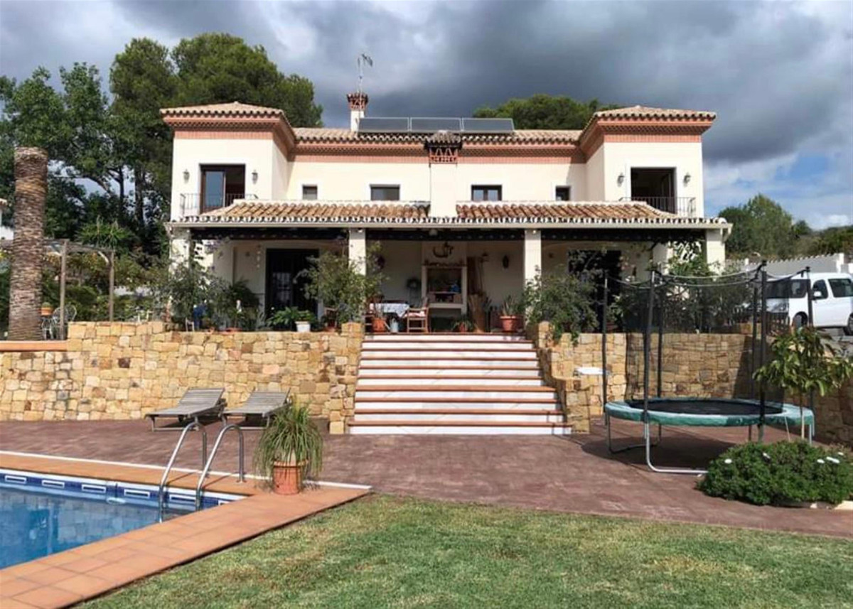 Detached villa with stunning sea views in Lomas del Pozuelo where you can enjoy the tranquility of a,Spain