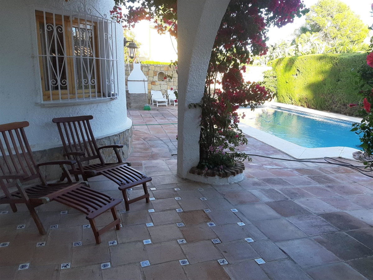 Excellent location meters from the beach for this fantastic independent villa.  Andalusian-style vil,Spain