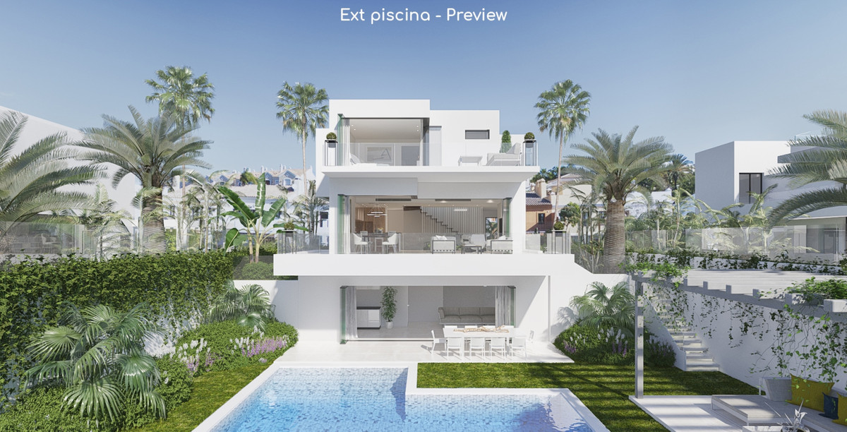 PLOT WITH PROJECT AND LICENSE OF SINGLE-FAMILY HOUSING IN THE AREA OF NUEVA ANDALUCIA, NEAR PUERTO B,Spain
