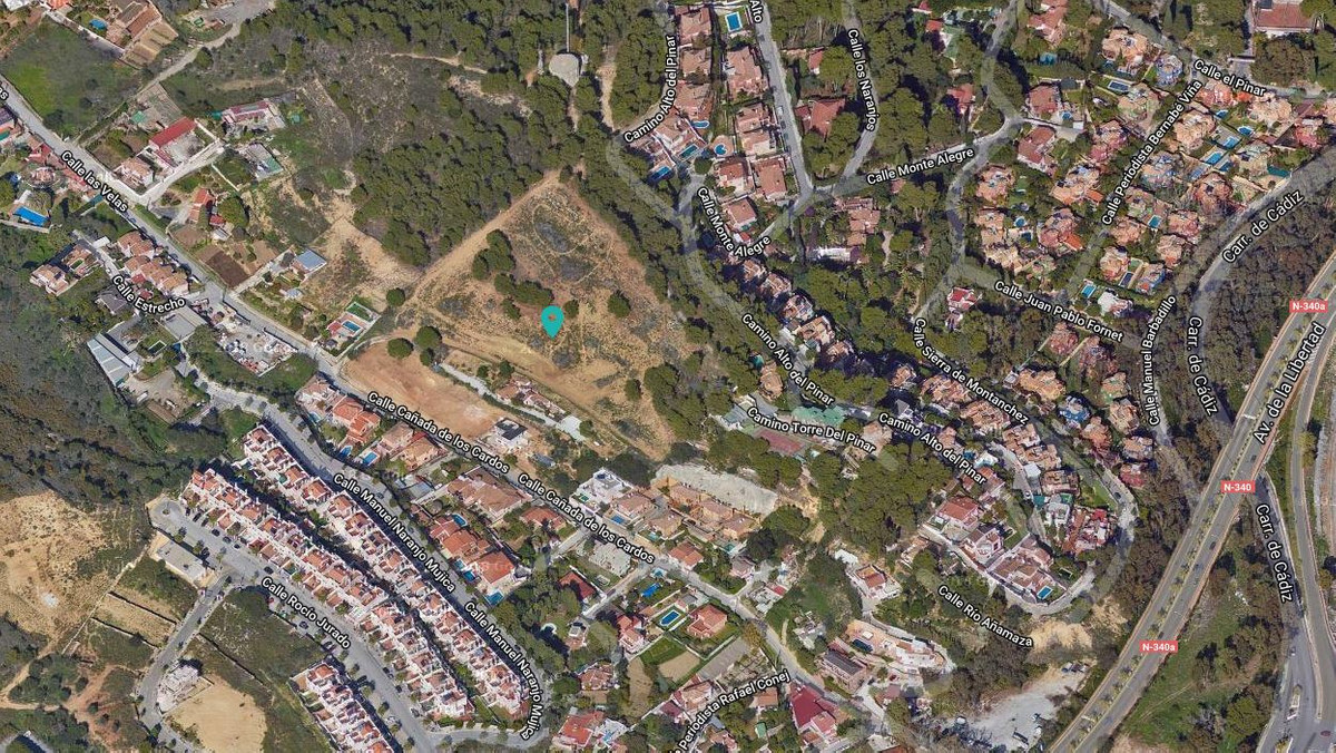 PLOT IN TORREMOLINOS.  They are 18.607 m2 without parcelling.  The buildability is 40% and the minim,Spain