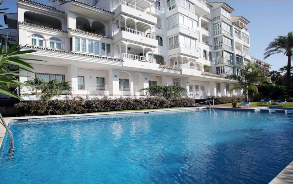 The apartment is located in Nueva Andalucia Puerto Banus (Marbella), 5 minutes from the sea.  The ac,Spain