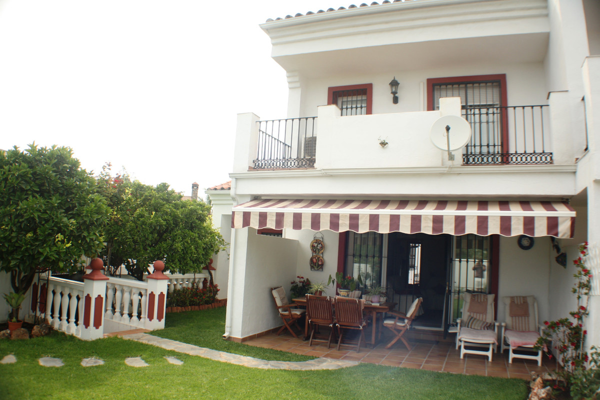 Great Corner Unit Townhouse SouthWest  with Private garden close to Marbella Pueblo,  This property ,Spain