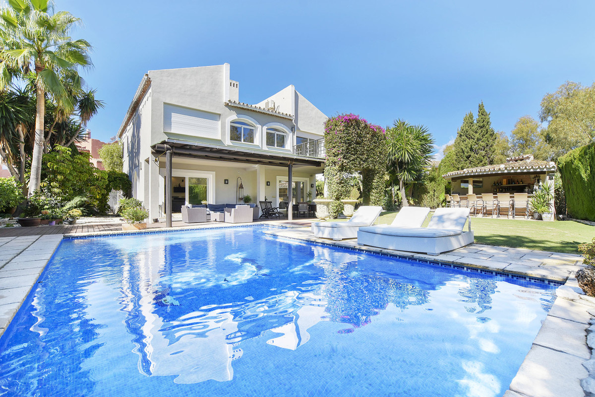 Luxury and newly renovated villa for sale in Casasola urbanization, Marbella, Malaga, Costa del Sol., Spain
