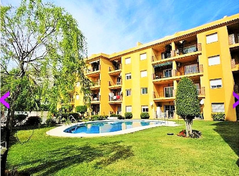 Beautiful Large Ground Floor Apartment with direct access to the Pool and well kept gardens in Pictu, Spain